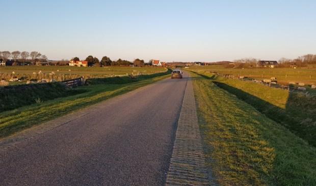 De Leemkuil. Volgens Eiland Belang een idee om in de toekomst te gebruiken voor verkeer vanaf het bedrijventerrein in Oudeschild.