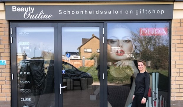Martine van Hintum verhuist met Beauty Outline naar een nieuwe zaak aan de Nikadel.
