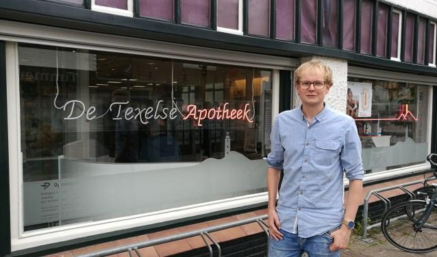 Daan Schagen (28) is sinds een jaar werkzaam als tweede apotheker.