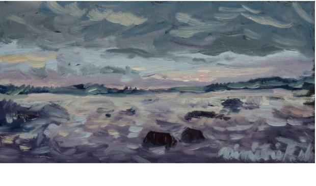 Dimitri Feenstra (olieverf op paneel, 10 x 20 cm)