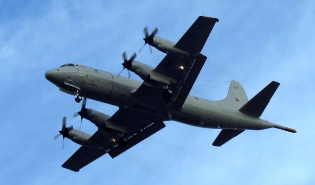 Voorbeeld van een Lockheed Orion.