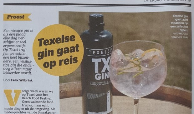 Het artikel in de bijlage Vrij van de Telegraaf.