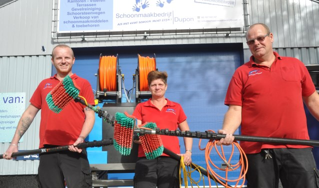 Michael, Janny en Jan Dupon.