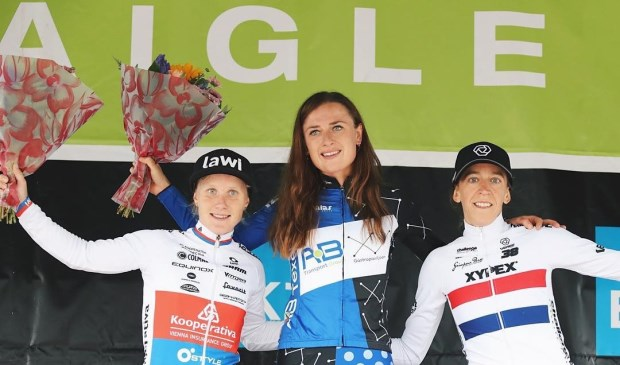 Eerste plaats voor Denise Betsema in het Zwitserse Aigle.