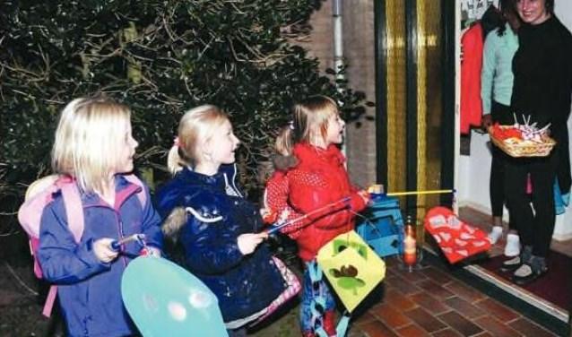 Zingende kinderen in De Koog een paar jaar geleden.