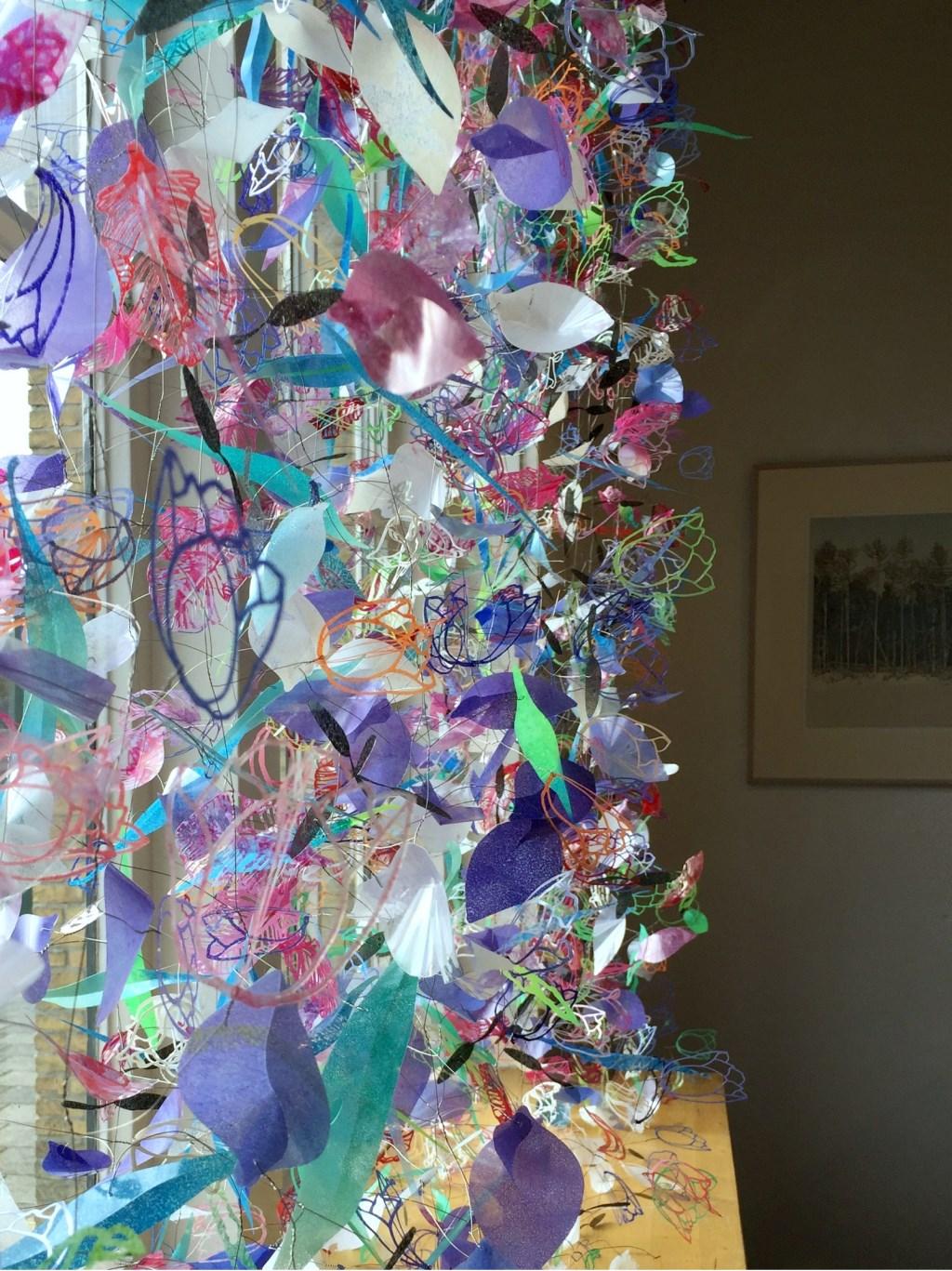 Marian Smit en Maurice Christo van Meije: Raamwerk (installatie in Galerie Posthuys)  © Mediabureau Langeveld & De Rooy