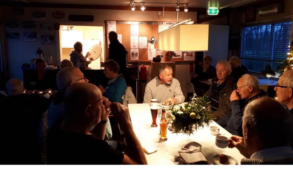 En gezelligheid in ons clubgebouw.  © Mediabureau Langeveld & De Rooy
