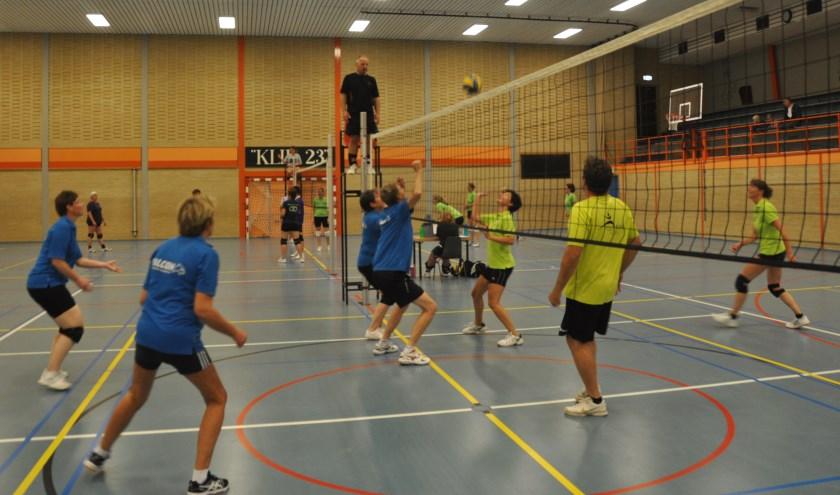 Eilandcompetitie volleybal.