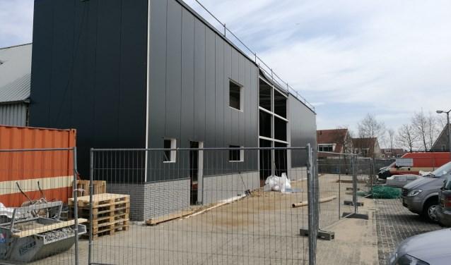 De nieuwe voorvleugel van de GAMMA Texel.