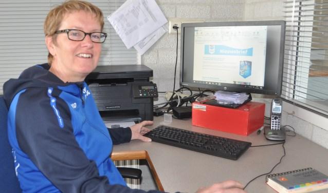 Connie Joling van Team Sportservice Texel.