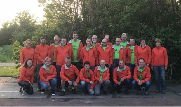 Het team van de Texelrunners