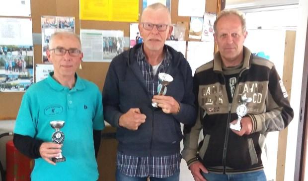 v.l.n.r. Peter Dernison, Antoine van 't Veer, Louis van der Vis.
