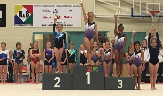 Sarah Jansen, 2e plaats tijdens Regiokampioenschappen