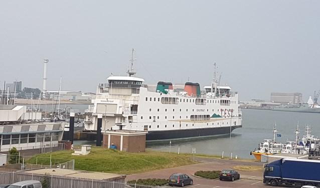 De Schulpengat ligt nu nog in Den Helder.