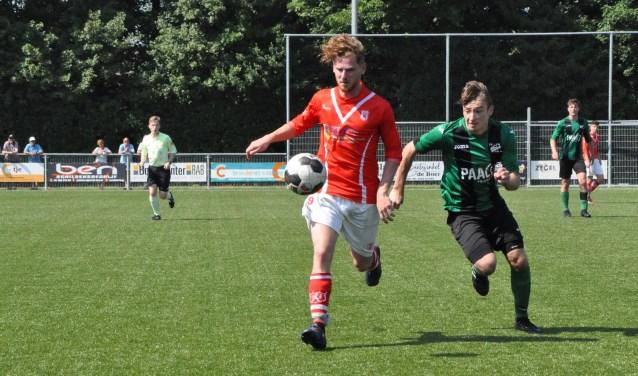 Texel eerder dit seizoen in actie tegen VSV.