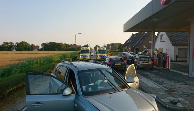 Het ongeval op de Postweg in Zuid-Eierland.