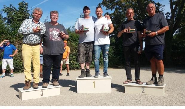 v.l.n.r. R. Magre, J. Keijer, R. Bouwmeester, S. Bouwmeester, R. Bakker, B. Kooij
