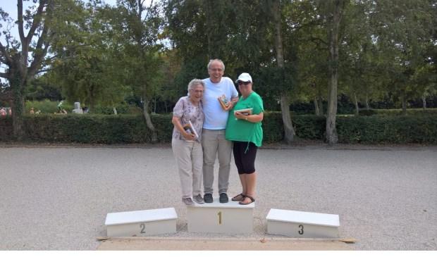 v.l.n.r. Magda Boonman, Danny van der Steeg en Guus Witte.