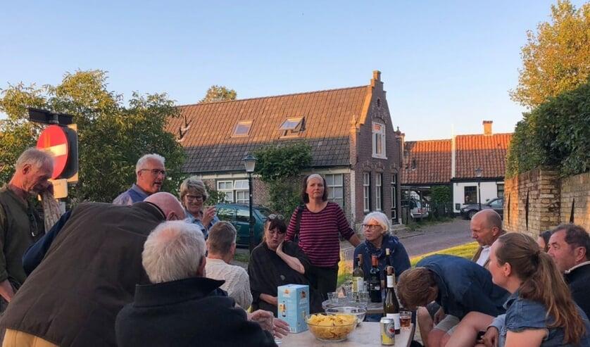 In De Waal werd genoten na het genomen besluit.