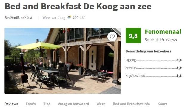 De Koog aan Zee op de website van Zoover.