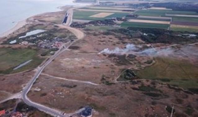 Nabij de Robbenjager ging het een paar weken geleden even mis in de natuur met brand als gevolg.