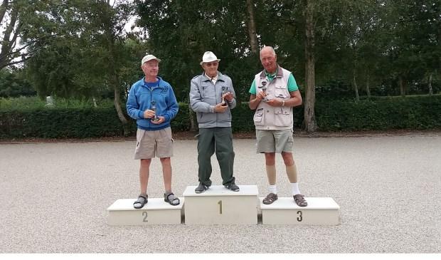 v.l.n.r. Jaap Zuidewind, Harm Gort, Fer Gieles.