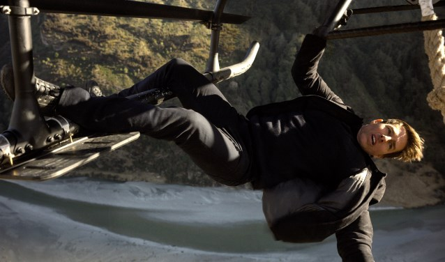 Tom Cruise is Ethan Hunt  in Mission Impossible - Fallout.