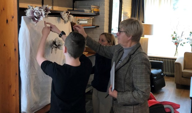 Joke Geldorp onthult samen met Daan Mahieu en Sterrelijn Schneiders de nieuwe tv.