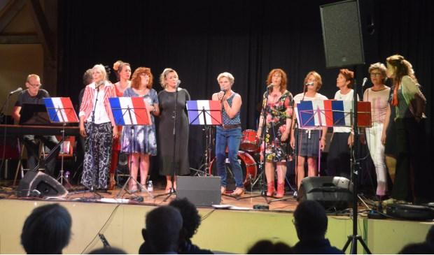 De Chansongroep van Artex, één van de optredens tijdens Lindeboom Live.