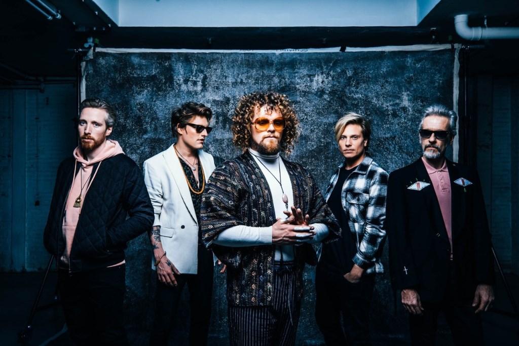 Di-rect, één van de bands die optreden tijdens de eerste editie van Wad 'n Concert.