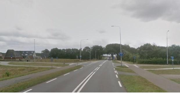 De kruising Pontweg, Keesomlaan, Westerweg.