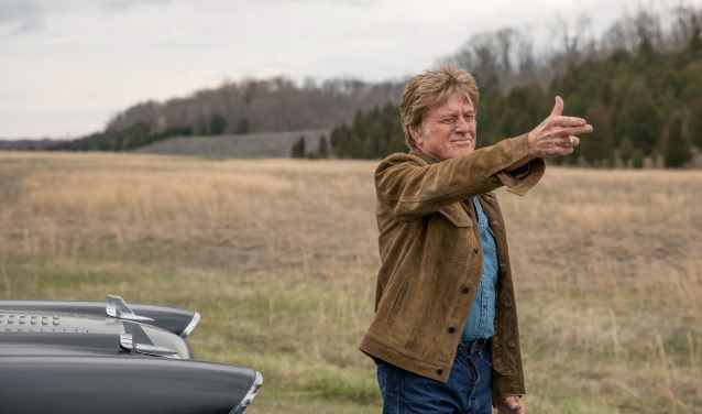 Robert Redford speelt Forrest Tucker in The Old Man and The Gun.
