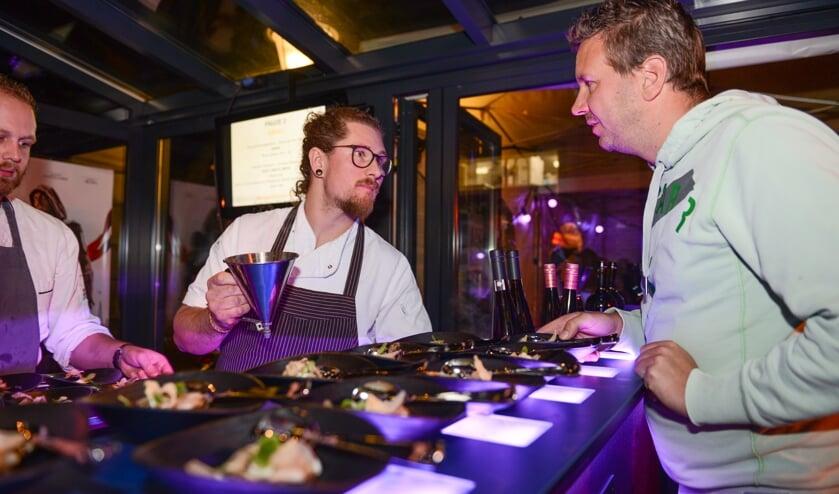 Er worden twee documentaires vertoond en chefkoks bereiden acht verschillende gerechtjes.