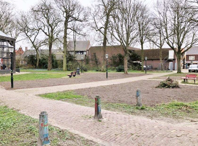 Het park in Den Burg
