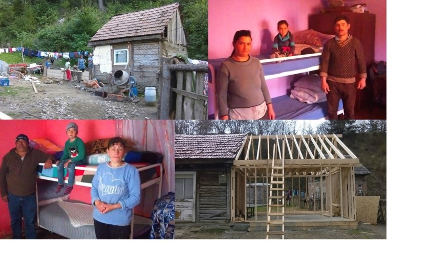 Nieuwe huisjes voor Roemenen, die dankzij Texelse bedden lekker kunnen slapen.