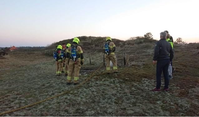 De brandweer moest de afgelopen tijd al enkele keren in actie komen om brandjes te blussen.