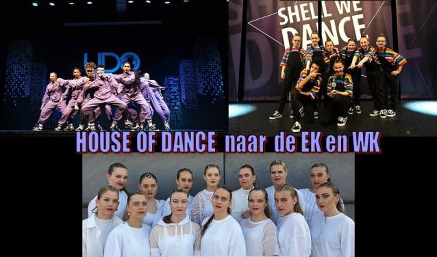 De teams van House of Dance.