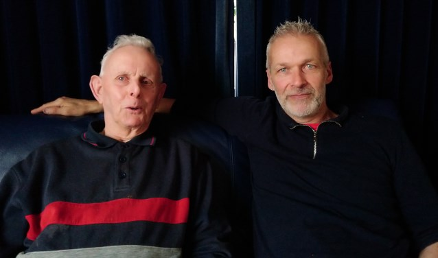 """Ome"" Jan en André Brouwer."