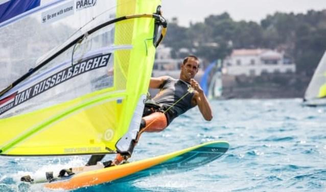 Dorian op het EK in Palma de Mallorca.