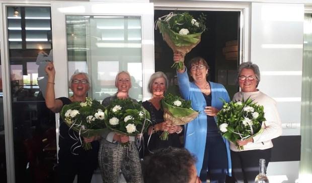 Bloemen voor de winnaars