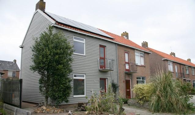 Deze woning aan de Boogerd is volledig energieneutraal gemaakt.