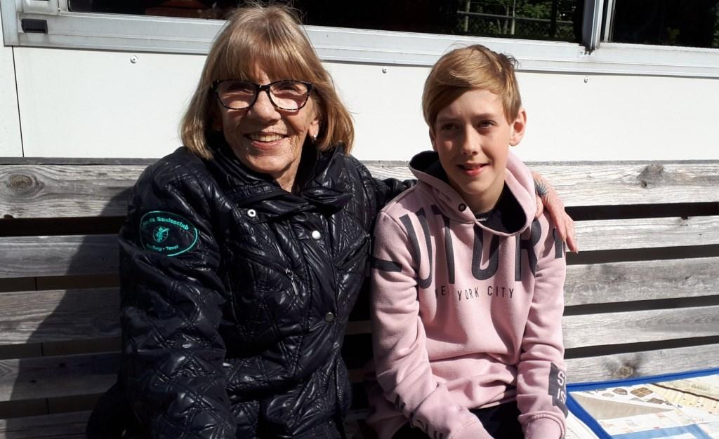 Dustin Vasteman (12), team met Diana Kardijk.  © Mediabureau Langeveld & De Rooy