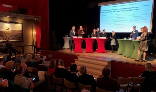 Politici van de provincie Noord-Holland tijdens het verkiezingsdebat eerder dit jaar in De Kiekendief op De Krim.