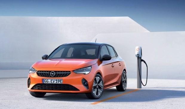 De nieuwe elektrische Corsa. Vraag ernaar bij Garage Rentenaar