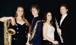 Berlage Saxophone Quartet en Jan Brokken presenteren bijzonder programma over vrijheid