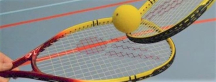 dynamic tennis rackets en bal