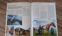 Eagles Ranch in magazine WRAN