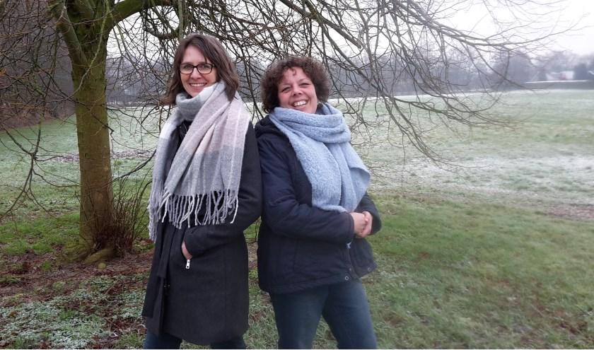 Ankie van der Veen en Lysbeth Vellinga coördineren de hulpvragen en de vrijwilligersinzet bij de VPTZ Noordoost Friesland.