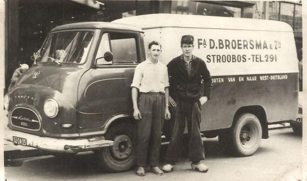 Van transportbedrijf Broersma is veel historische materiaal te zien.