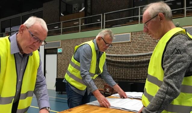 Centraal stemmen tellen in Kollum op 21 maart in de Van der Bijhal.